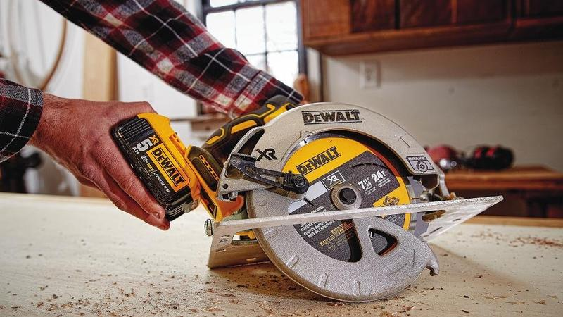 Be the sharpest knife in the toolbox with these cordless circular saws