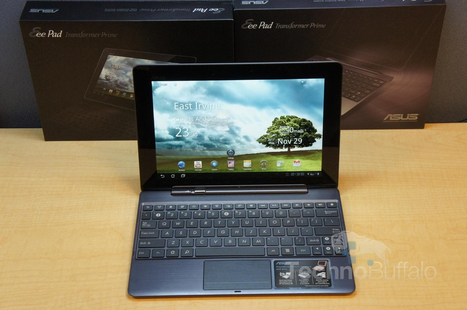 Asus Offers Refunds Extended Warranties To Transformer Prime Users