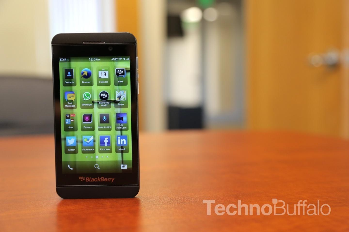 CAN BLACKBERRY Z10 RUN ANDROID APPS - BlackBerry Z10