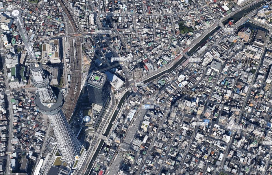 Google Maps Adds 3D Imagery for Tokyo and the Surrounding Area ...