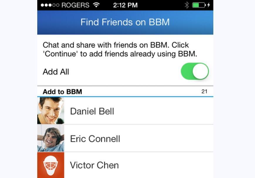 BBM on Android and iOS Updated With