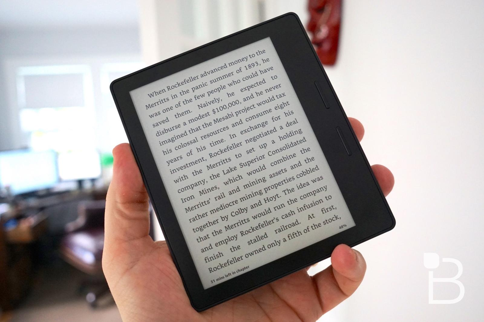 Kindle Oasis review: Oh dear, how will I ever return to the
