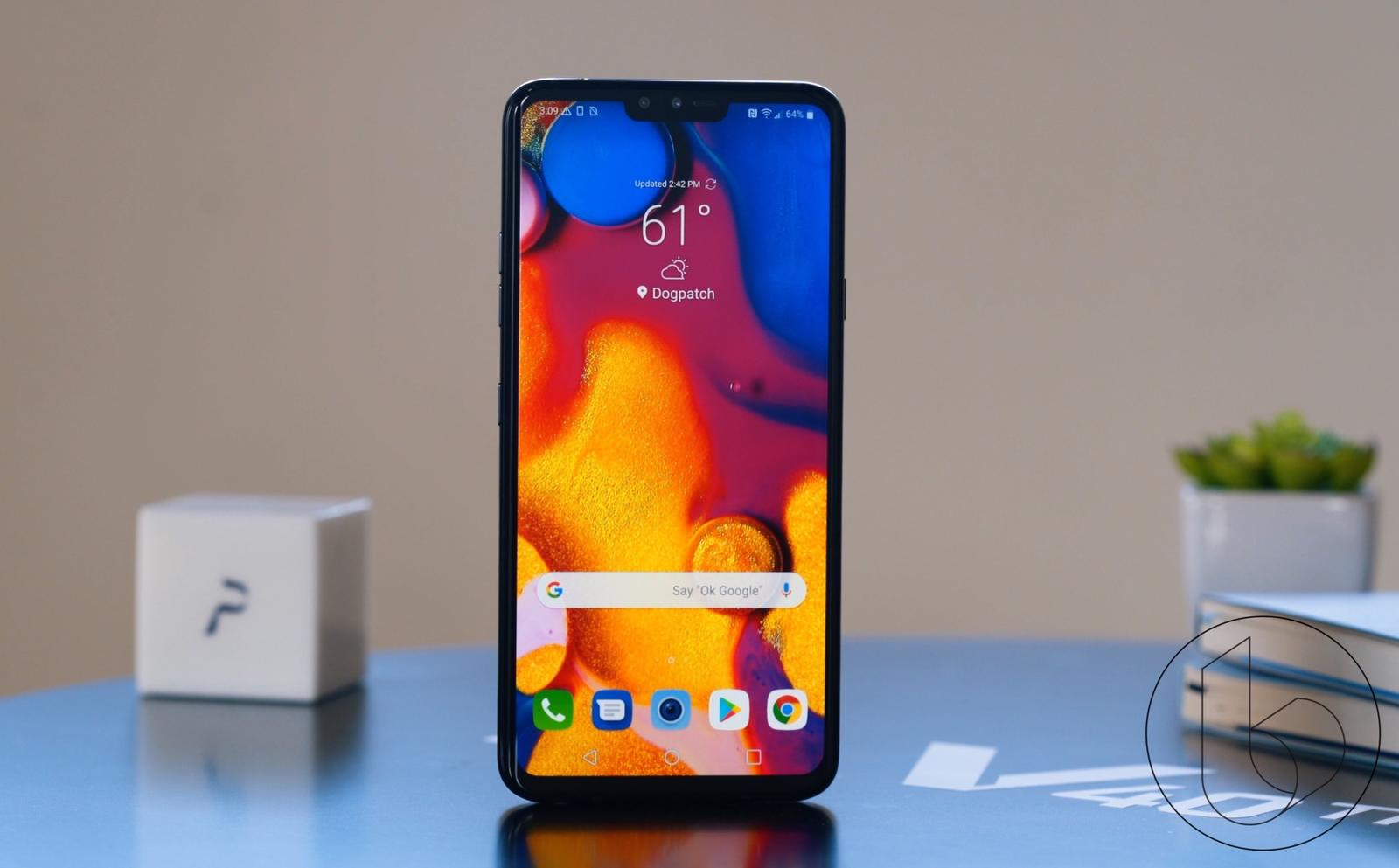 LG V40 review: LG Catches Up to Samsung and Google   TechnoBuffalo