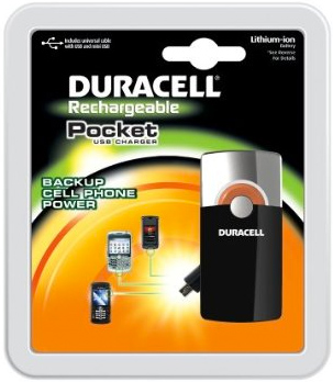 Duracell pocket charger