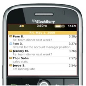 Gmail on BlackBerry