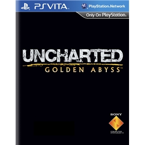 Uncharted: Golden Abyss cover PS Vita