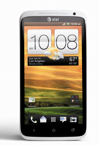 AT&T HTC One X