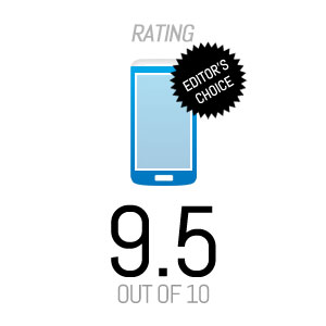 Rating - Mobile - 9.5 - Editors Choice