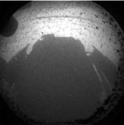 Mars Curiosity Rover shadow image
