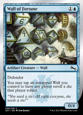 UNSTABLE Magic: The Gathering draft - Pound your friends with just